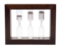 The hourglass Royalty Free Stock Photo