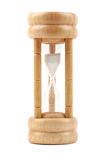 Hourglass isolated on white Stock Images