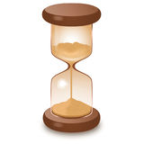 Hourglass isolated on white  illustration. Hourglass sandglass isolated on white  illustration Royalty Free Illustration