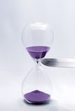 Hourglass - Killing time Royalty Free Stock Photography