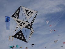 Hourglass Kite Royalty Free Stock Images