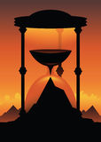 Hourglass Mountain Royalty Free Stock Photo