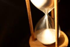 hourglass odizolowywający Fotografia Royalty Free