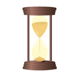 Hourglass old vintage Royalty Free Stock Image