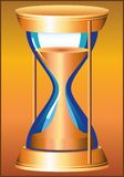 HOURGLASS PATTERN. Instrument for counting a certain length of time Royalty Free Stock Photo