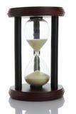 Hourglass que conta o tempo fotos de stock