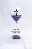 Hourglass Religion Rapture Royalty Free Stock Photos