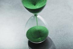 Hourglass retro foto de stock