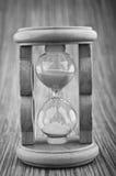 Hourglass retro imagem de stock