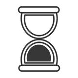 Hourglass or sand clock line icon Stock Photos