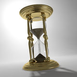 Hourglass with sand Royalty Free Stock Photo