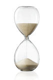 Hourglass. Sand glass isolated on white background Royalty Free Stock Photography