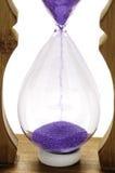 Hourglass, sand glass, sand clock Stock Image