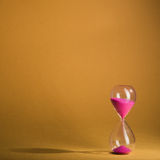Hourglass sand glass Stock Photography