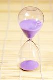 Hourglass, sandglass, piaska zegar, piaska zegar Obraz Royalty Free