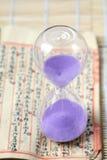 Hourglass, sandglass, piaska zegar, piaska zegar Zdjęcia Stock