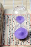 Hourglass, sandglass, sand timer, sand clock Royalty Free Stock Photos