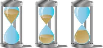 Hourglass set Royalty Free Stock Image