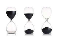 Hourglass. Set on white background Royalty Free Stock Photography