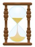hourglass stary royalty ilustracja