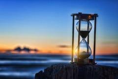 Hourglass Sunrise Outdoors