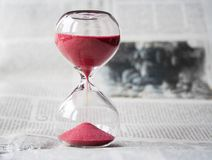 Hourglass, Time, Hours, Sand, Clock Royalty Free Stock Image
