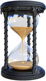 Hourglass Time Piece Illustration, Isolated Royalty Free Stock Photos