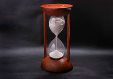 Hourglass timer Royalty Free Stock Image