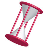 Hourglass (Vector Available). An illustration of an hourglass timer Stock Photos