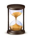 Hourglass vector illustration Royalty Free Stock Photography