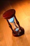 Hourglass velho fotografia de stock