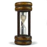 Hourglass velho fotos de stock