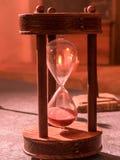 Hourglass velho imagens de stock royalty free