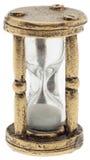 Hourglass velho Sandglass do metal foto de stock royalty free