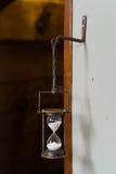 Hourglass w statku Fotografia Royalty Free
