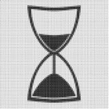 Hourglass on white background Royalty Free Stock Image
