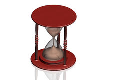 Hourglass - Zeitkonzept Lizenzfreies Stockbild