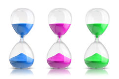 Hourglasses Royalty Free Stock Photography