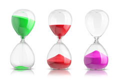 Hourglasses Stock Photos
