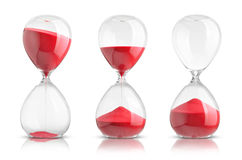 Hourglasses Stock Images