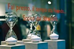 Hourglasses dla sprzedaży Zdjęcia Stock