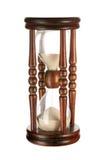 Hourglasses isolados fotografia de stock