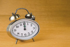 Hours an alarm clock Royalty Free Stock Image