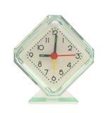 Hours an alarm clock. Hours an alarm clock on a white background Royalty Free Stock Photo