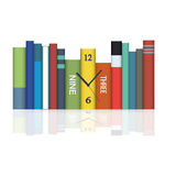 Hours in books Royalty Free Stock Photo