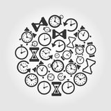 Hours a circle Royalty Free Stock Photography