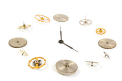 Clockwork close up Royalty Free Stock Photos