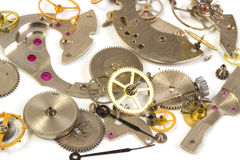 Clockwork close up Stock Image
