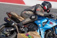 24Hours de Catalunya Motociclismo Fotografia de Stock