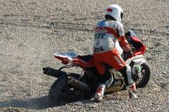 24Hours de Catalunya Motociclismo Imagem de Stock Royalty Free